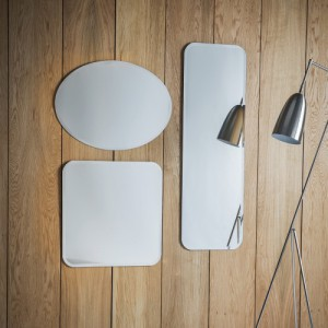 Miller Mirrors long 47x16in £69, oval 27x20in £49, square 24x24in £49
