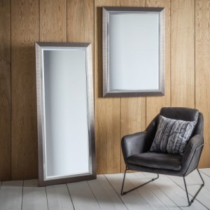 Rylston mirror leaner 61x26inch £85, Rectangle 42x30in £69