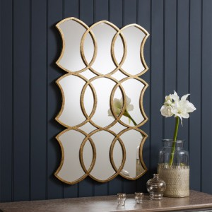 Marrakesh rectangle mirror 40x25inch SALE £259