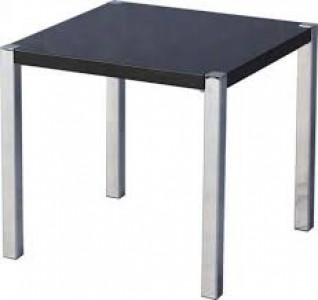 Charisma lamp table BLACK GLOSS