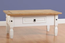 Corona white or grey coffee table