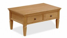 Stratford oak coffee table