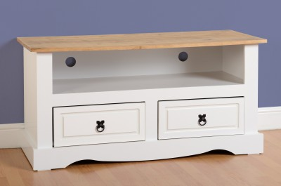 Corona white or grey TV unit