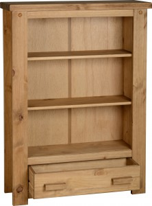 Block solid bookcase
