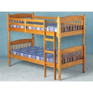Solid Classic Pine Bunk bed