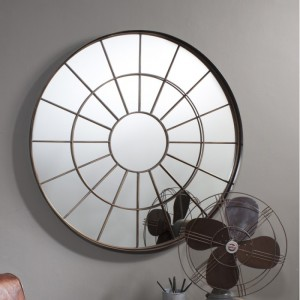 Battersea round mirror