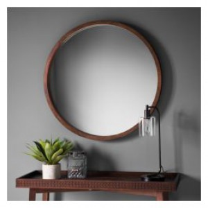 Boho Retreat round mirror