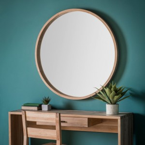 Bowman round mirror Large