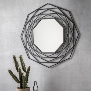 Estella round mirror