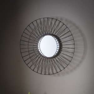 Ifield round mirror