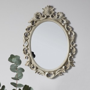 Napoli Mirror oval cream
