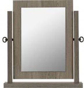 Sonoma dark grey dressing table mirror