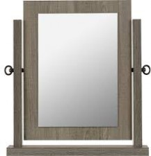 Sonoma dark grey dressing table mirror W44xD9xH49cm