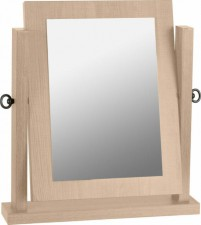 Sonoma light oak dressing table mirror