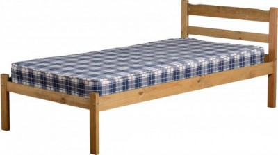Panama pine solid single bed