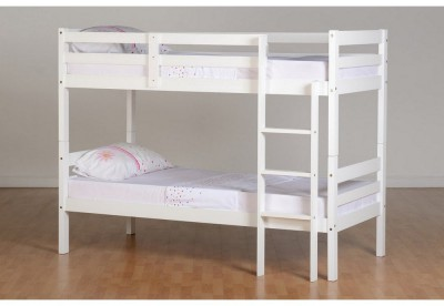 Panama white bunk beds