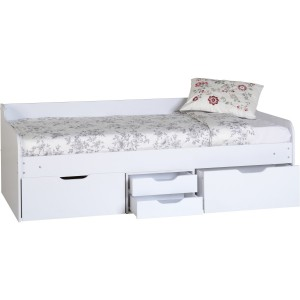 Dante white day bed