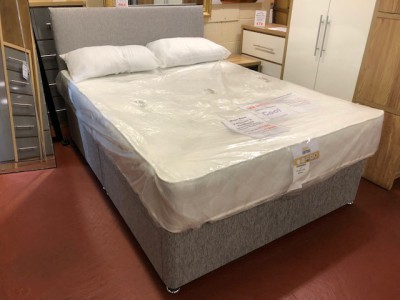 Divan 4ft6 double bed base in various colours