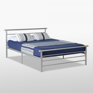 Orion silver or white 4ft6 double bed