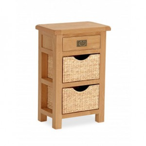 Erne tall table with baskets