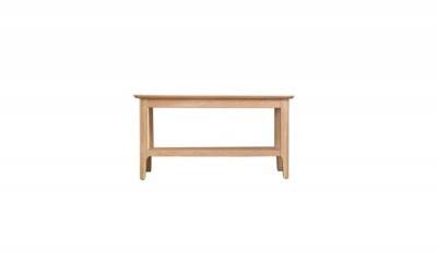Scandinavian oak small coffee table