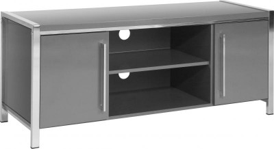 Charisma grey gloss TV unit