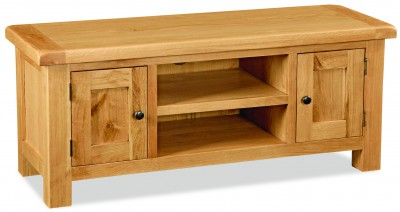 Erne PLUS Oak 2 Door Large TV unit