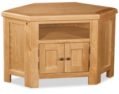 Erne Plus Oak corner TV unit