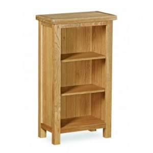 Erne lite oak mini bookcase