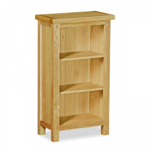 Tuscan oak mini bookcase