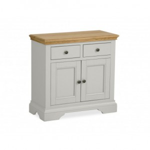Chester grey and oak mini sideboard