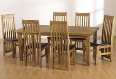 Block solid large dining table