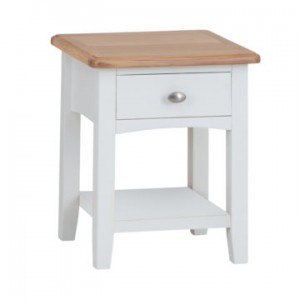 Georgia 1 drawer lamp table