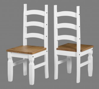 Corona white or grey dining chair