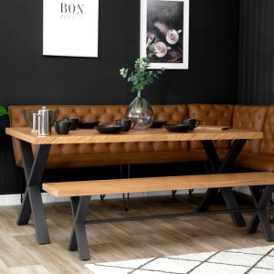 Urban Industrial Large dining table