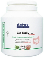 Go Daily - a b;lend of psyllium husk and digestive enzymes to alleviate your IBS