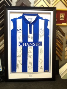 Framed Football Shirt SWFC