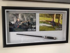 Framed Harry Potter Wand