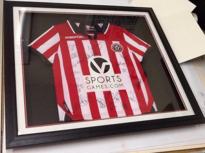 Framed Football Shirt SUFC