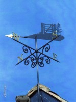 Reed Gate House Vane