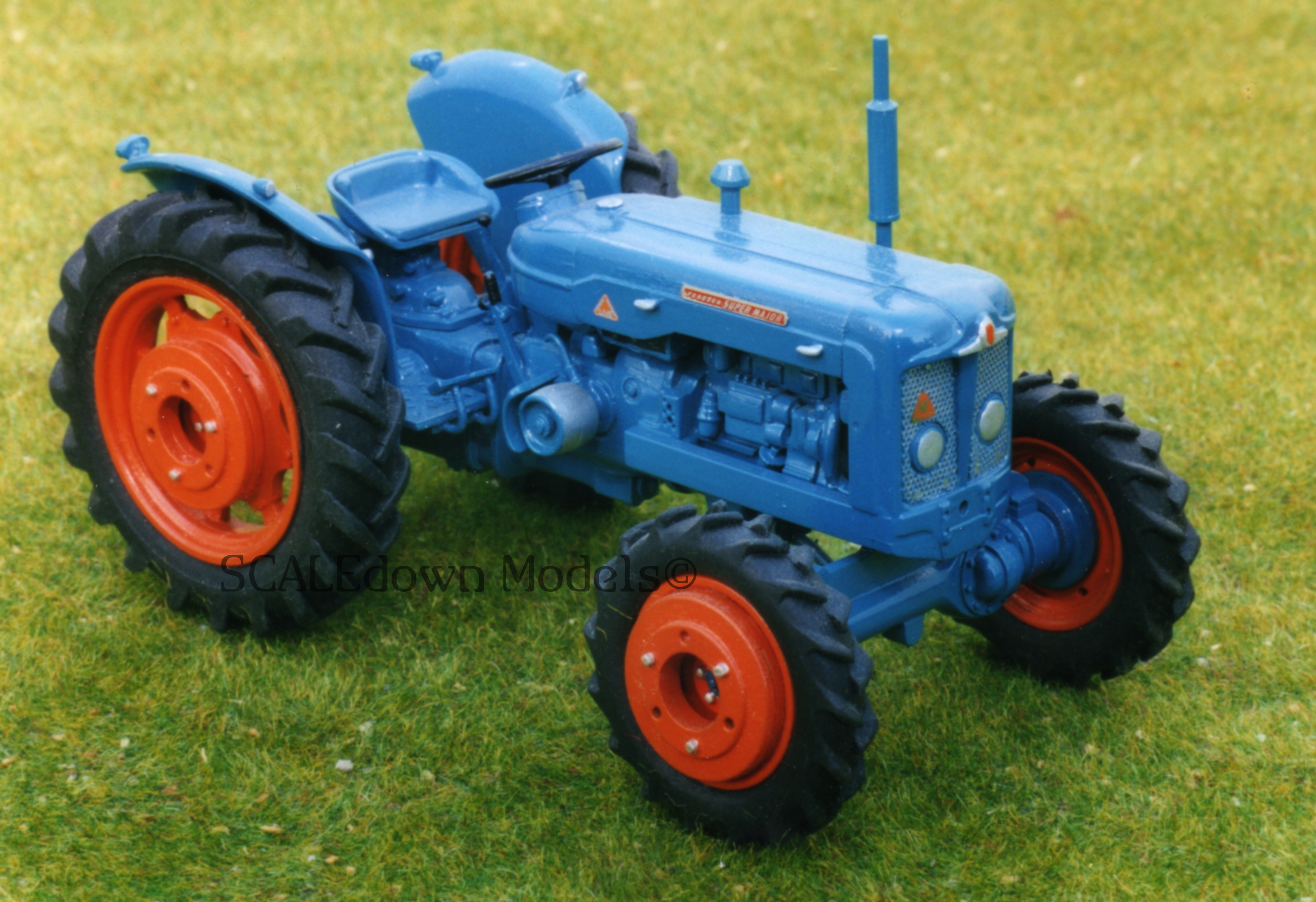 T029 1962 Fordson Super Major Roadless 4wd Tractor Kits Ford 8n Steering
