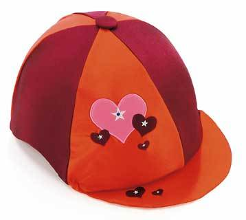 Childrens Hat Silks - Hearts and Stars