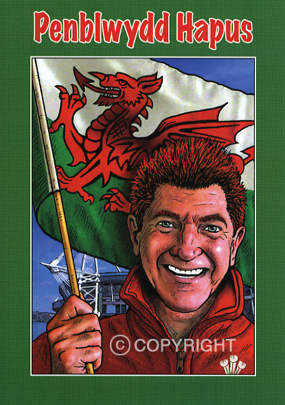 Design PB 31 - Welsh Birthday Card