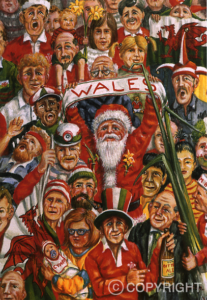 O Come All Ye Faithful - Welsh Christmas Card