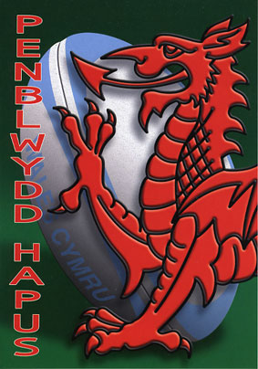 Design PB 33 - Welsh Birthday Card