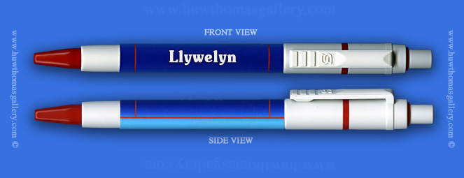 Male Welsh Name: Llywelyn - on a Pen ( Boy's / Man's Name )