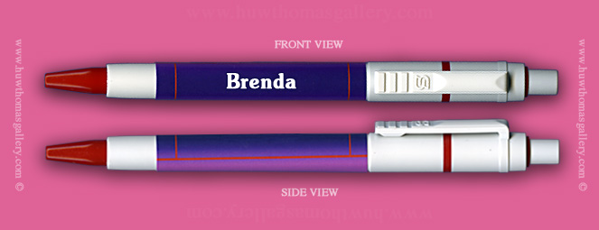 Female Welsh Name:  Brenda - on a Pen ( Girl's / Women's Name )