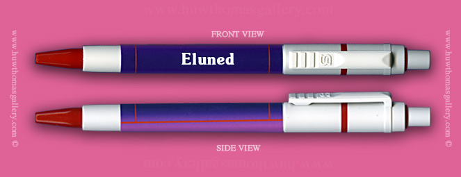 Female Welsh Name:  Eluned - on a Pen ( Girl's / Women's Name )