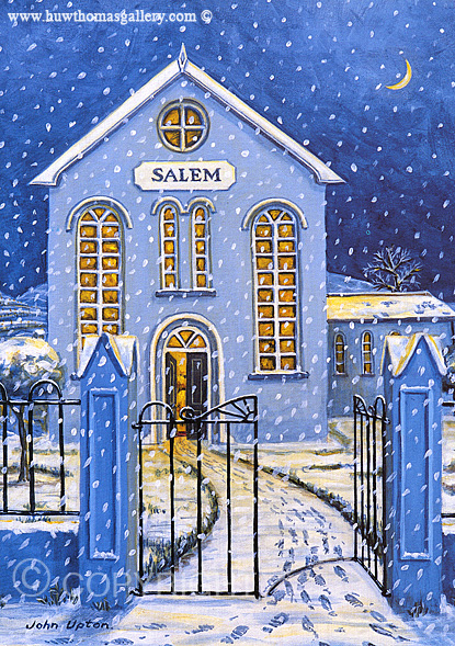 Salem Chapel  - Welsh Christmas Card