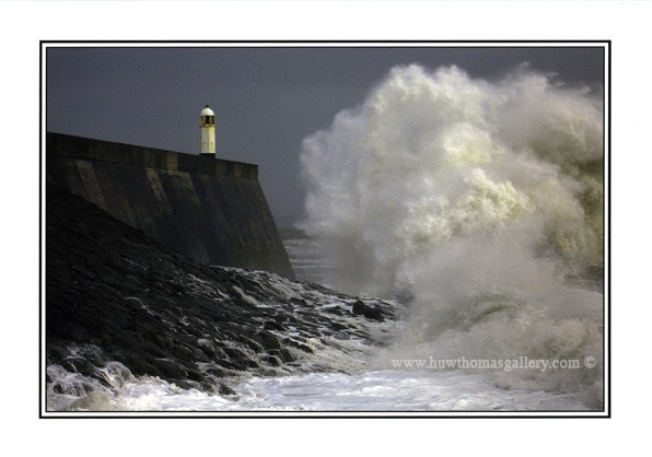 Porthcawl Lighthouse Greeting Card